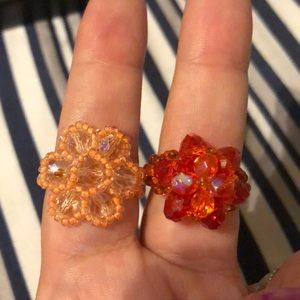 Jewelry - Handmade Guatemala Beaded Rings